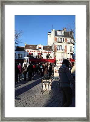 Paris France - Street Scenes - 011311 Framed Print by DC Photographer