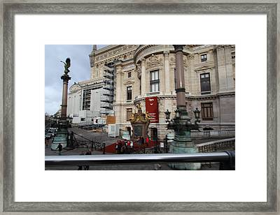 Paris France - Street Scenes - 0113110 Framed Print by DC Photographer