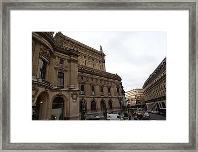 Paris France - Street Scenes - 0113117 Framed Print