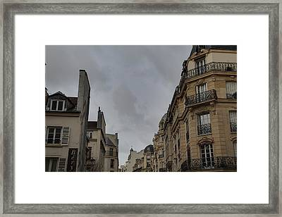 Paris France - Street Scenes - 0113123 Framed Print by DC Photographer