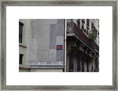 Paris France - Street Scenes - 0113127 Framed Print by DC Photographer