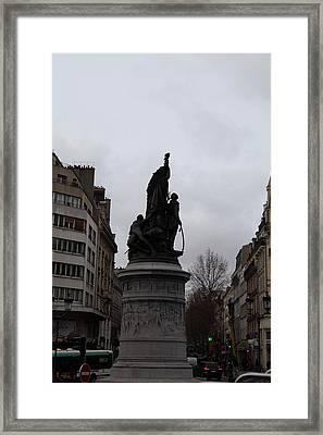 Paris France - Street Scenes - 0113129 Framed Print