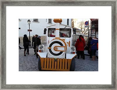 Paris France - Street Scenes - 011313 Framed Print by DC Photographer