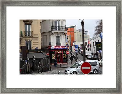 Paris France - Street Scenes - 0113132 Framed Print by DC Photographer