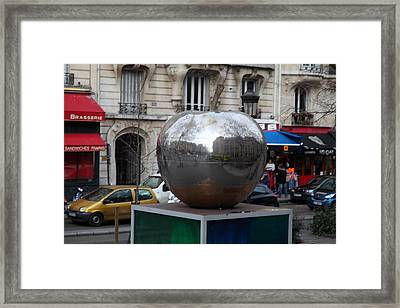 Paris France - Street Scenes - 0113133 Framed Print by DC Photographer