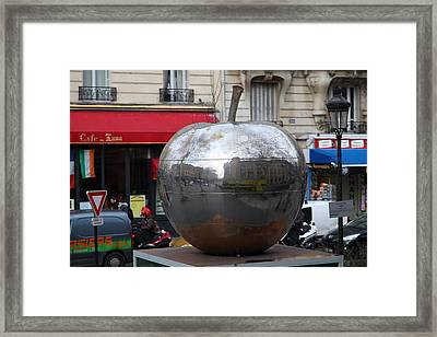 Paris France - Street Scenes - 0113136 Framed Print by DC Photographer