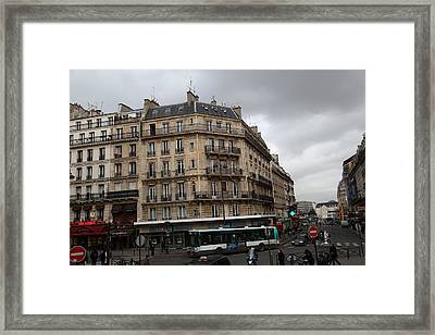 Paris France - Street Scenes - 0113142 Framed Print by DC Photographer