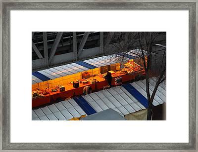 Paris France - Street Scenes - 011315 Framed Print by DC Photographer