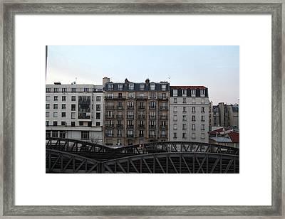 Paris France - Street Scenes - 011316 Framed Print by DC Photographer