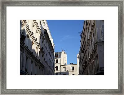 Paris France - Street Scenes - 01132 Framed Print by DC Photographer