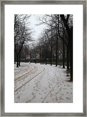 Paris France - Street Scenes - 011325 Framed Print by DC Photographer