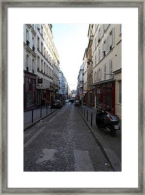Paris France - Street Scenes - 01133 Framed Print by DC Photographer