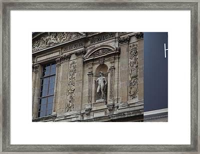 Paris France - Street Scenes - 011339 Framed Print by DC Photographer