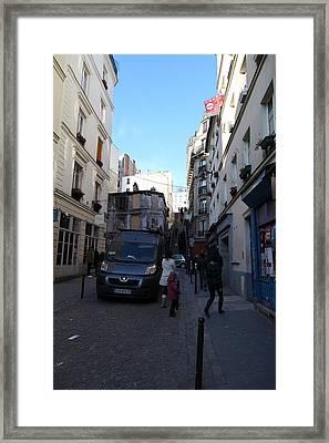 Paris France - Street Scenes - 01134 Framed Print by DC Photographer
