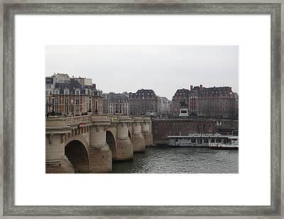 Paris France - Street Scenes - 011345 Framed Print by DC Photographer