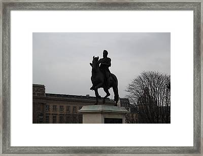 Paris France - Street Scenes - 011352 Framed Print by DC Photographer