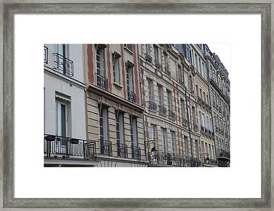 Paris France - Street Scenes - 011357 Framed Print by DC Photographer
