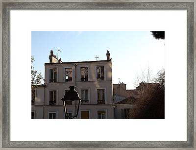 Paris France - Street Scenes - 01137 Framed Print