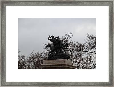 Paris France - Street Scenes - 011371 Framed Print by DC Photographer