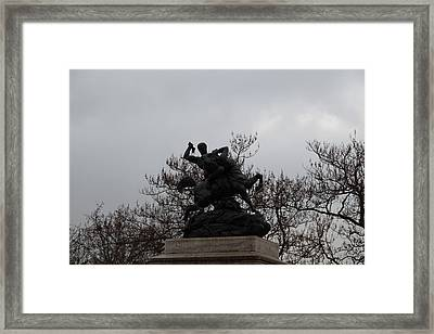 Paris France - Street Scenes - 011372 Framed Print by DC Photographer