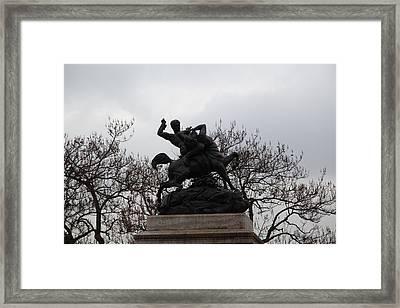 Paris France - Street Scenes - 011373 Framed Print by DC Photographer