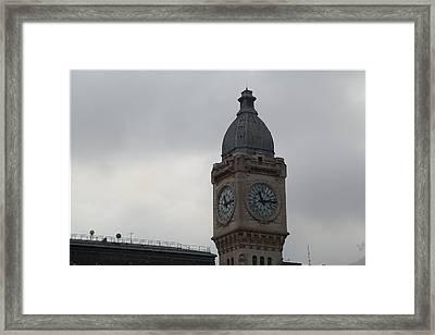 Paris France - Street Scenes - 011382 Framed Print