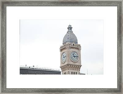 Paris France - Street Scenes - 011383 Framed Print