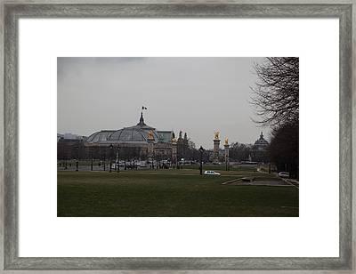 Paris France - Street Scenes - 011390 Framed Print by DC Photographer