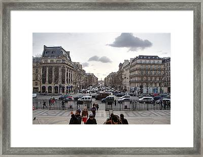 Paris France - Street Scenes - 011393 Framed Print