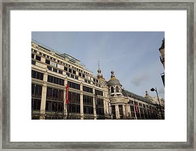 Paris France - Street Scenes - 011399 Framed Print by DC Photographer
