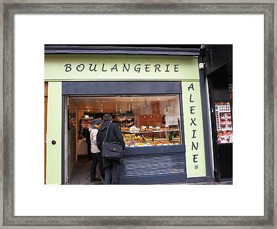 Paris France - Street Scenes - 121212 Framed Print by DC Photographer