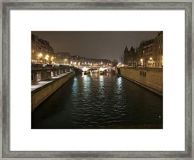 Paris France - Street Scenes - 12124 Framed Print by DC Photographer