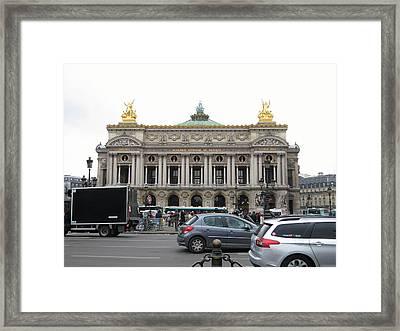 Paris France - Street Scenes - 121246 Framed Print by DC Photographer