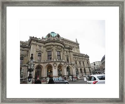 Paris France - Street Scenes - 121253 Framed Print by DC Photographer