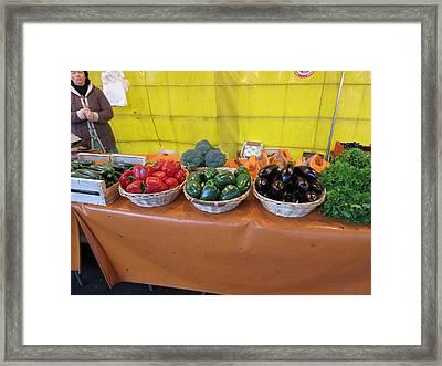 Paris France - Street Scenes - 121276 Framed Print by DC Photographer