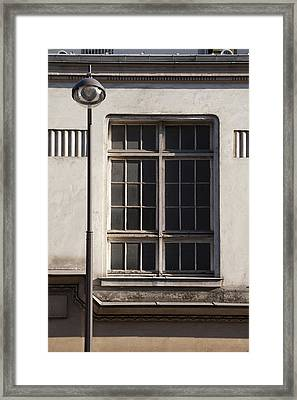 Paris Geometry 3 Framed Print by Art Ferrier