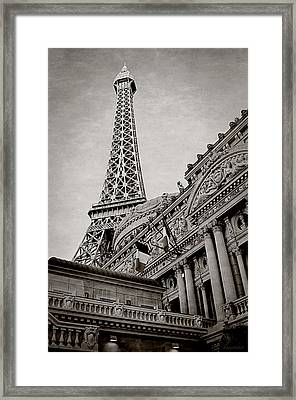 Paris Hotel Framed Print by Maria Angelica Maira