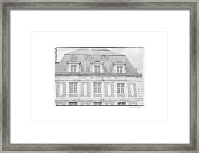 Paris House Framed Print