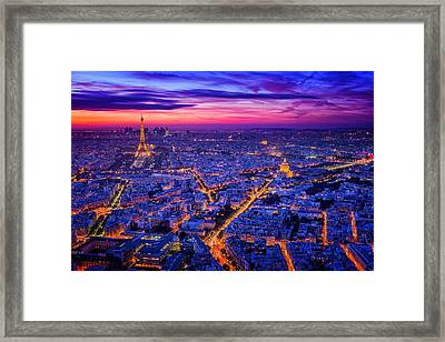 Paris I Framed Print by Juan Pablo De