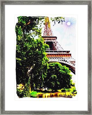 Paris In June Framed Print by Gra Howard