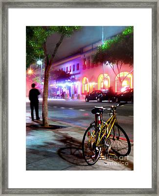 Framed Print featuring the photograph Paris In Santa Monica by Jennie Breeze
