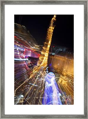 Paris In Vegas Framed Print by Igor Kislev