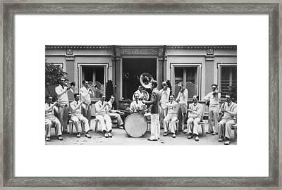 Paris Jazz Band, 1928 Framed Print by Granger