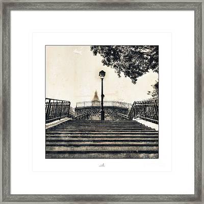 Paris - Lantern Framed Print by ARTSHOT - Photographic Art