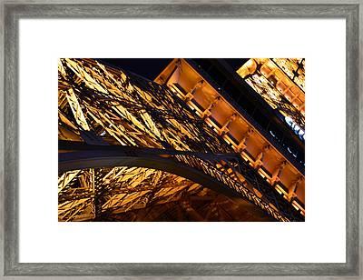 Paris Las Vegas Eiffel Tower Framed Print