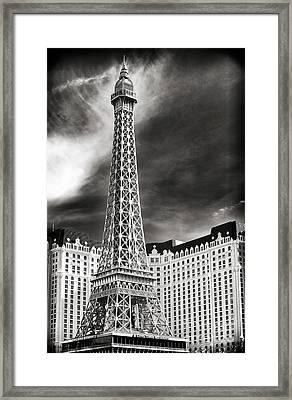 Paris Las Vegas Framed Print by John Rizzuto