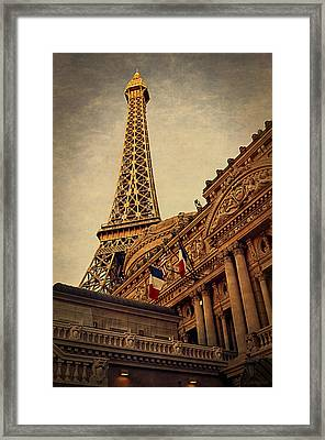 Paris - Las Vegas Framed Print
