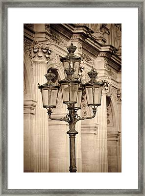 Paris Moment Framed Print by Russ Bishop