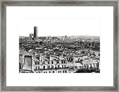 Paris Montparnasse Framed Print
