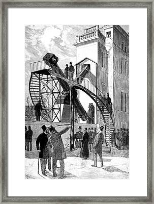 Paris Observatory Framed Print by Collection Abecasis